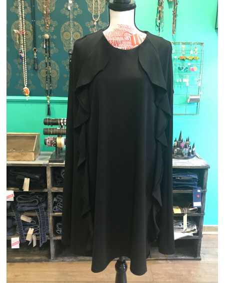 Robe cape noire - Brigitte Bardot