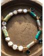 Bracelet gomme Hypnochic turquoise