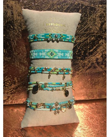 Bracelet bohème turquoise - Hypnochic
