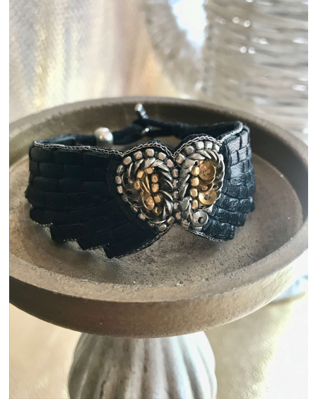 Bracelet Ange noir - Nahua