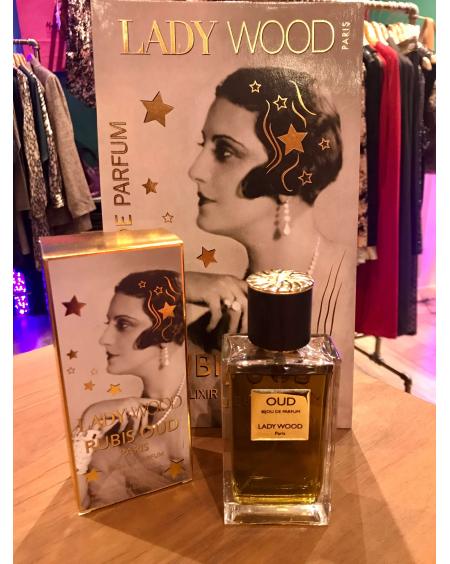 Parfum femme Lady Wood - Rubis Oud