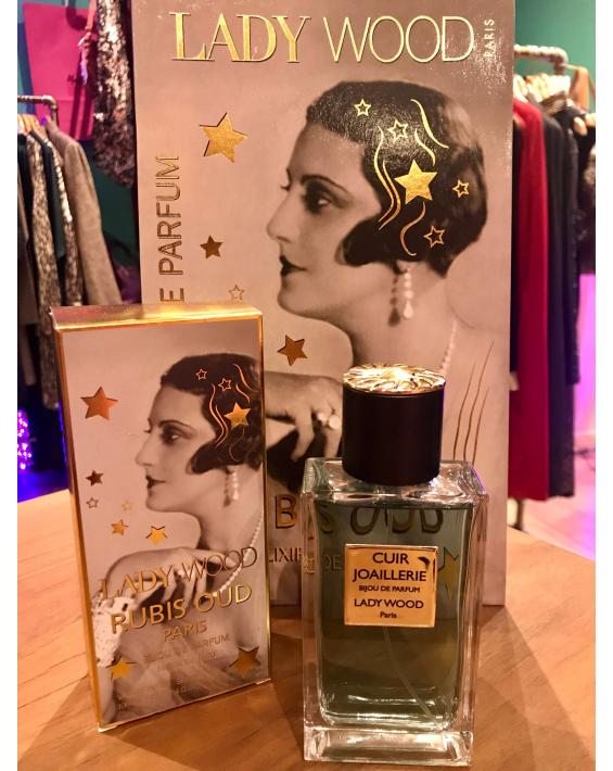 Parfum femme Lady Wood - Cuir Joaillerie