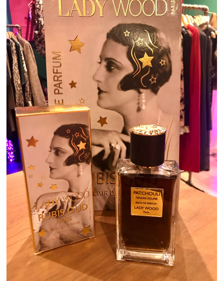 Parfum femme Lady Wood - Patchcouli Tendre Soupir