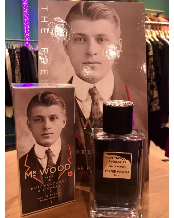 Parfum homme Lady Wood - Nuit Masquée à Versailles