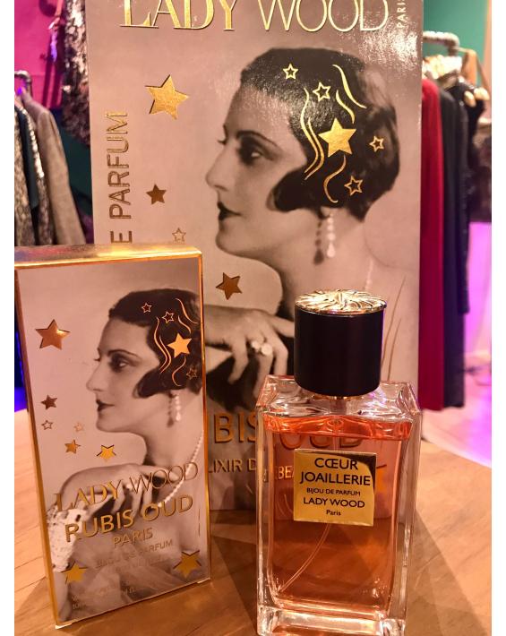 Parfum femme Lady Wood - Love Coeur Joaillerie