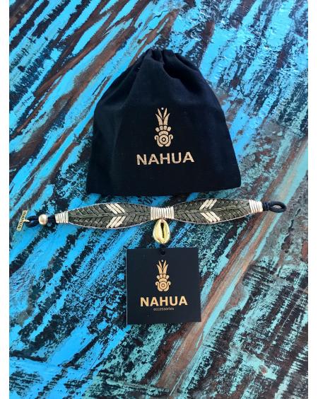 Bracelet Oshun kaki - Nahua