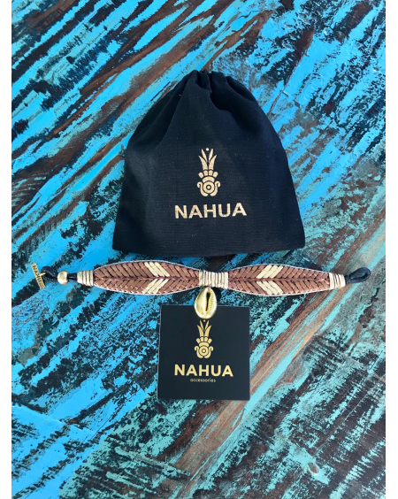 Bracelet Oshun nuts - Nahua