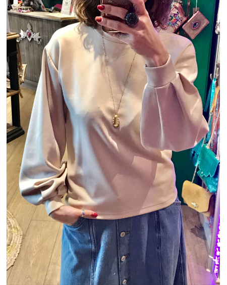 Pull Pusty beige - B Young