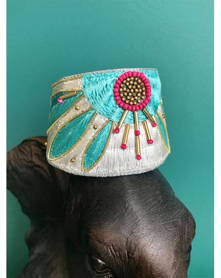 Bracelet manchette Apauline amazonia - Nahua