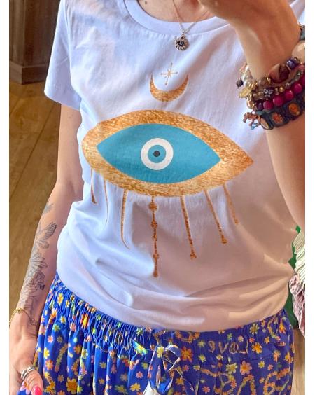 T-shirt Hypnotic Eye - Madly Rose