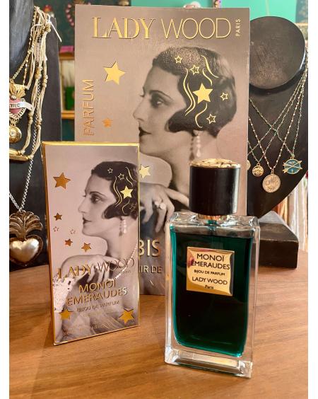Parfum femme Lady Wood - Monoï Emeraudes